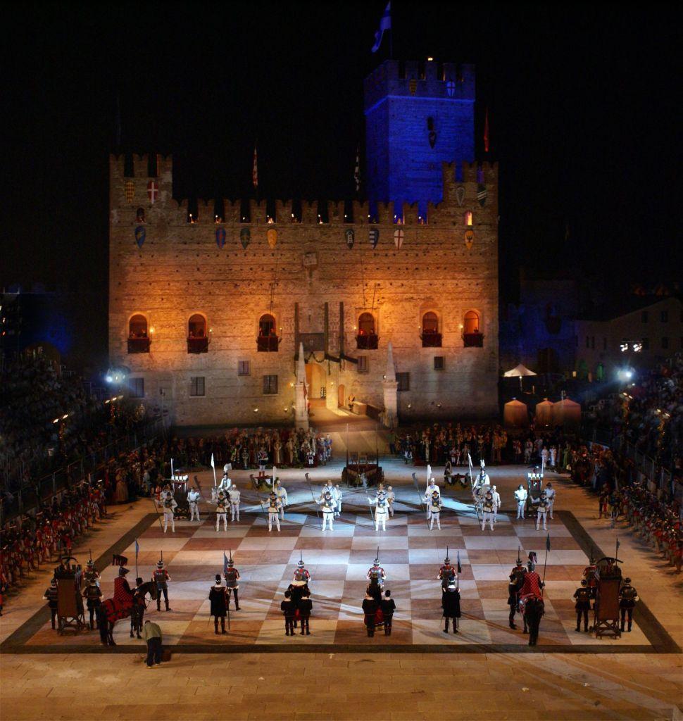 Marostica - La partita a scacchi