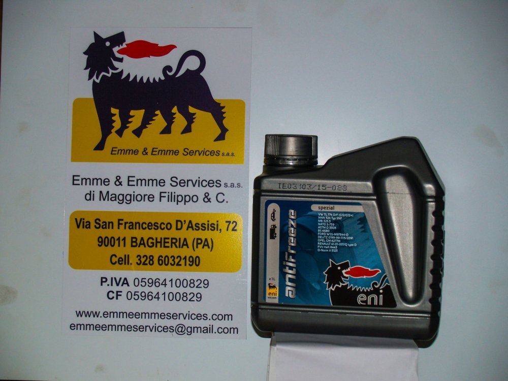 medium resolution of  engine coolant red eni antifreeze spezial