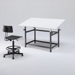 Drafting Table Chairs Swing Chair Riyadh Tables For Architect And Designer Emme Italia