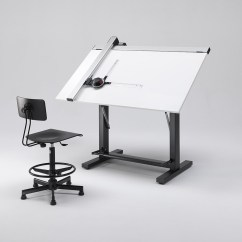 Drafting Table Chairs Coastal Kitchen And Tables For Architect Designer Emme Italia