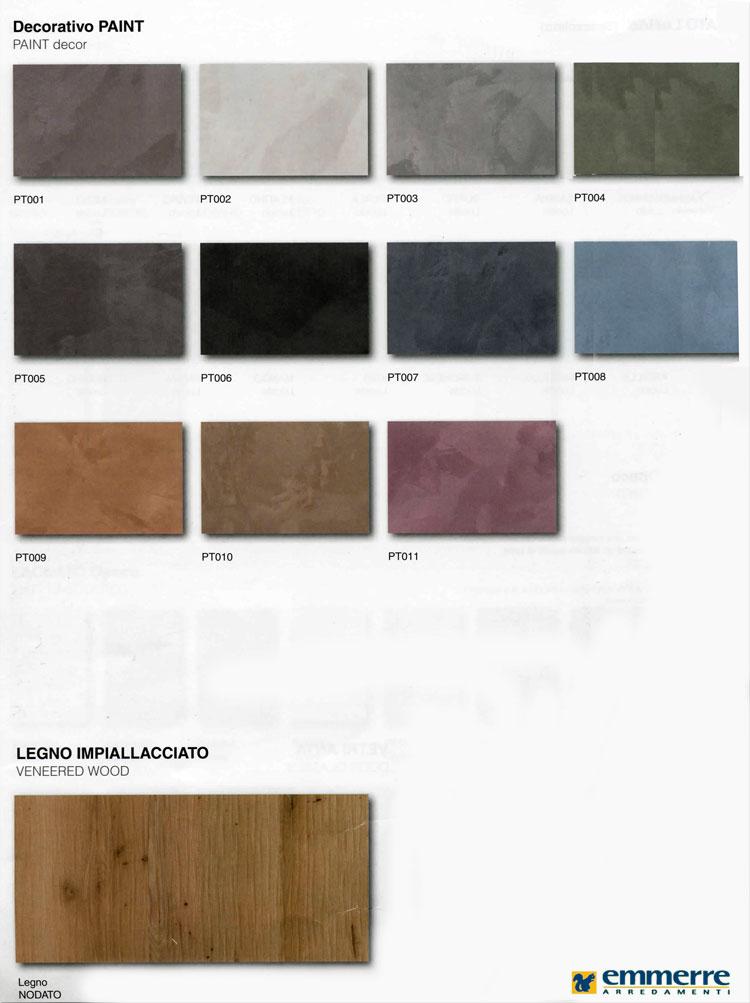 colori integra  Emmerre Arredamenti Srl  Arredamento Roma