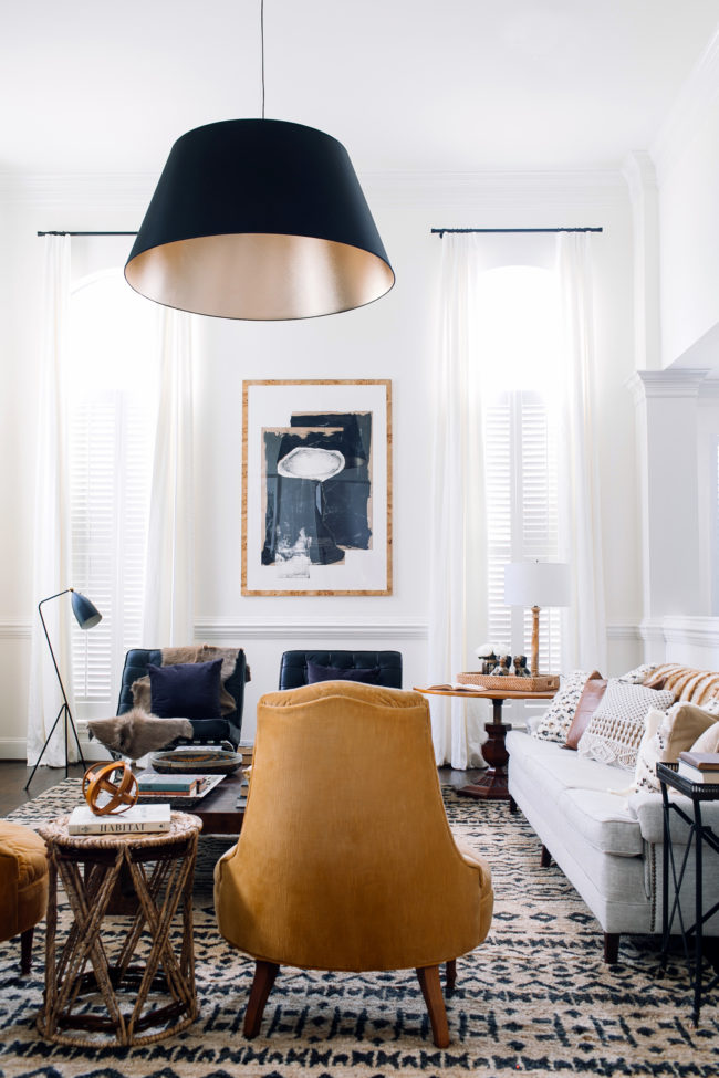 Claire Brody Neutral Collected Living Room