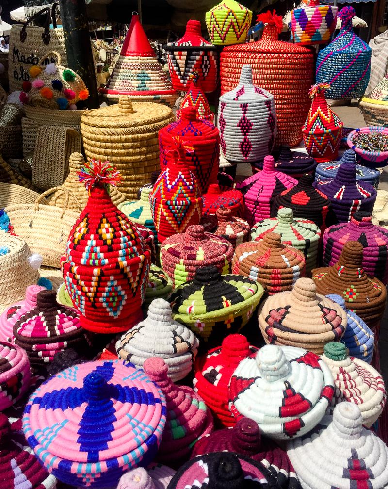 Berber baskets