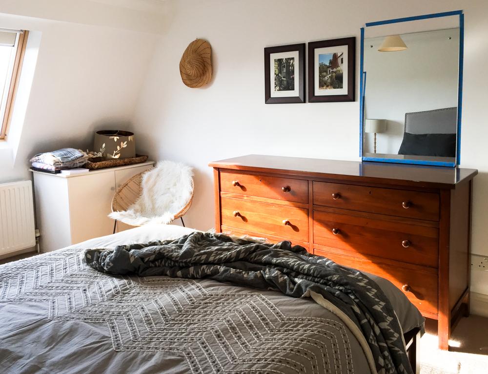 One Room Challenge Bedroom Progress Living Pretty-4