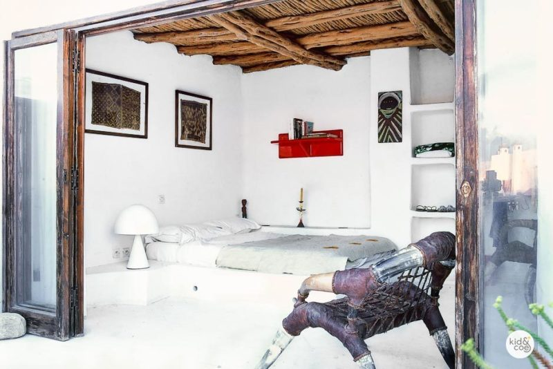 Light and Bright Moroccan Bedroom Vacation Rental Essaouria Morocco
