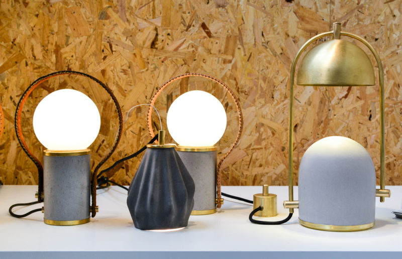 Frontal Factory Lighting at Design Junction
