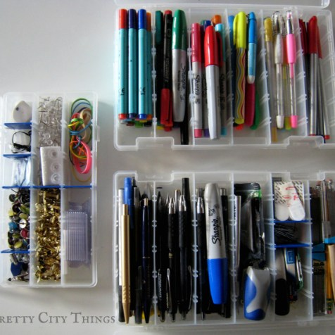 An Organized Office Space