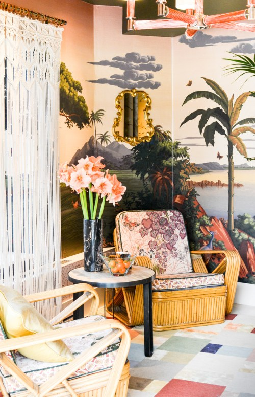 2017 Interior Design Trends Home Decor Trend Report - Rattan & Greenery via Best & Lloyd