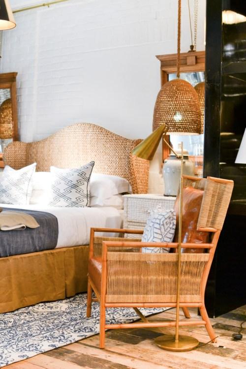 2017 Interior Design Home Decor Trend Report - Wicker & Rattan via Nicholas Haslam