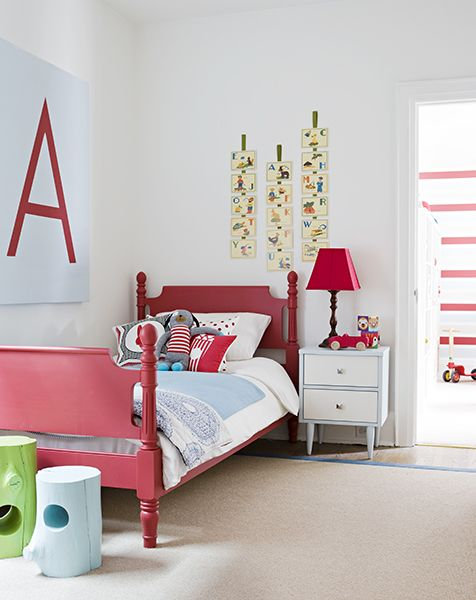 Mood Board | A Colourful Toddler Bedroom