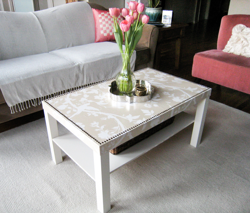 Ikea Lack Coffee Table Makeover