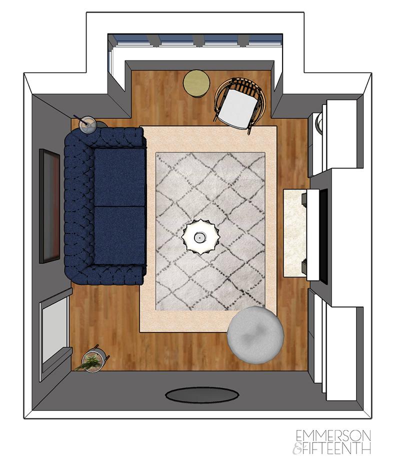 Birds Eye View Floor Plan
