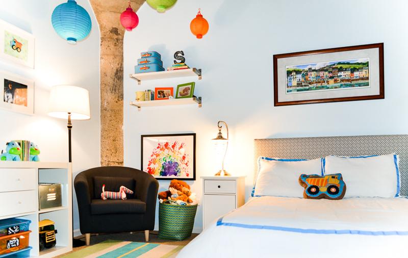 Industrial Loft Toddler Bedroom Reveal