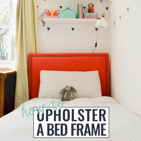 How to Upholster A Bed Frame