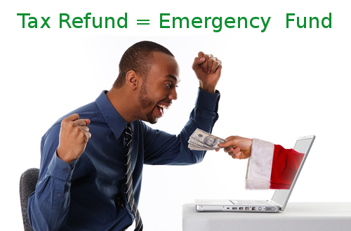 Tax Refund to emergency Fund