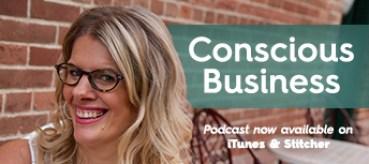 Conscious Business - Julie Zuzek Poster