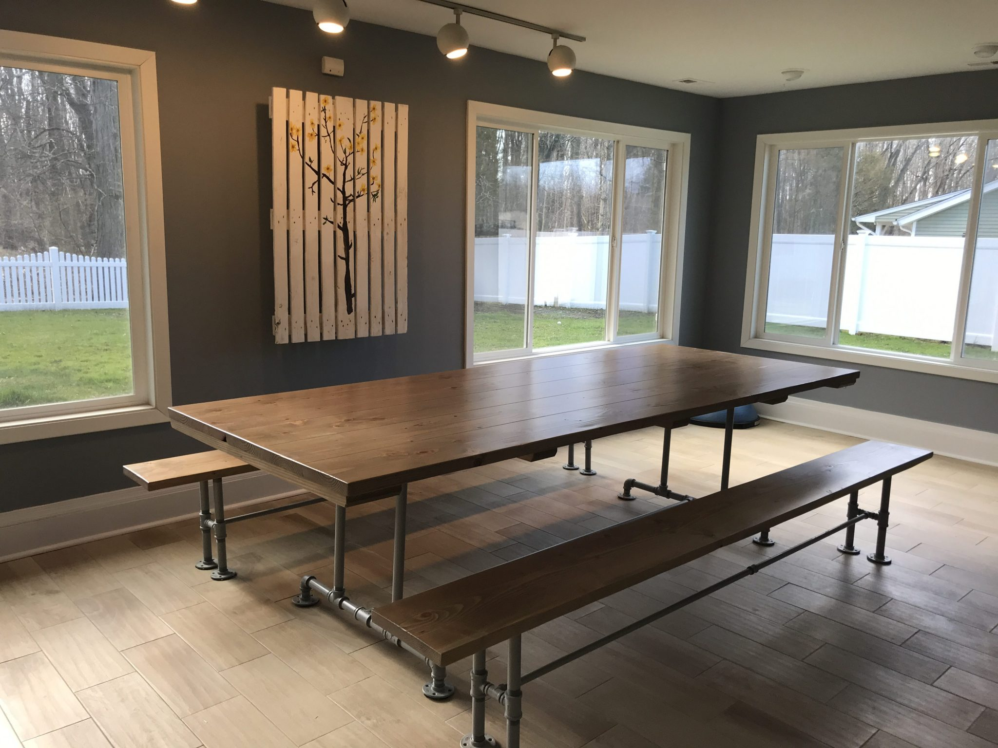 Industrial Dining Tables Solid Wood With A Modern Flare Emmor Works