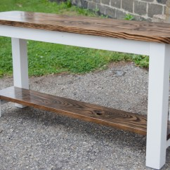How To Make A Sofa Table Top Real Leather Sofas Uk Buffet Tables Emmorworks 5 Stained Dark Walnut Base Solid Ivory