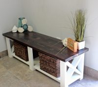 Storage Bench / Entryway Bench | Emmorworks