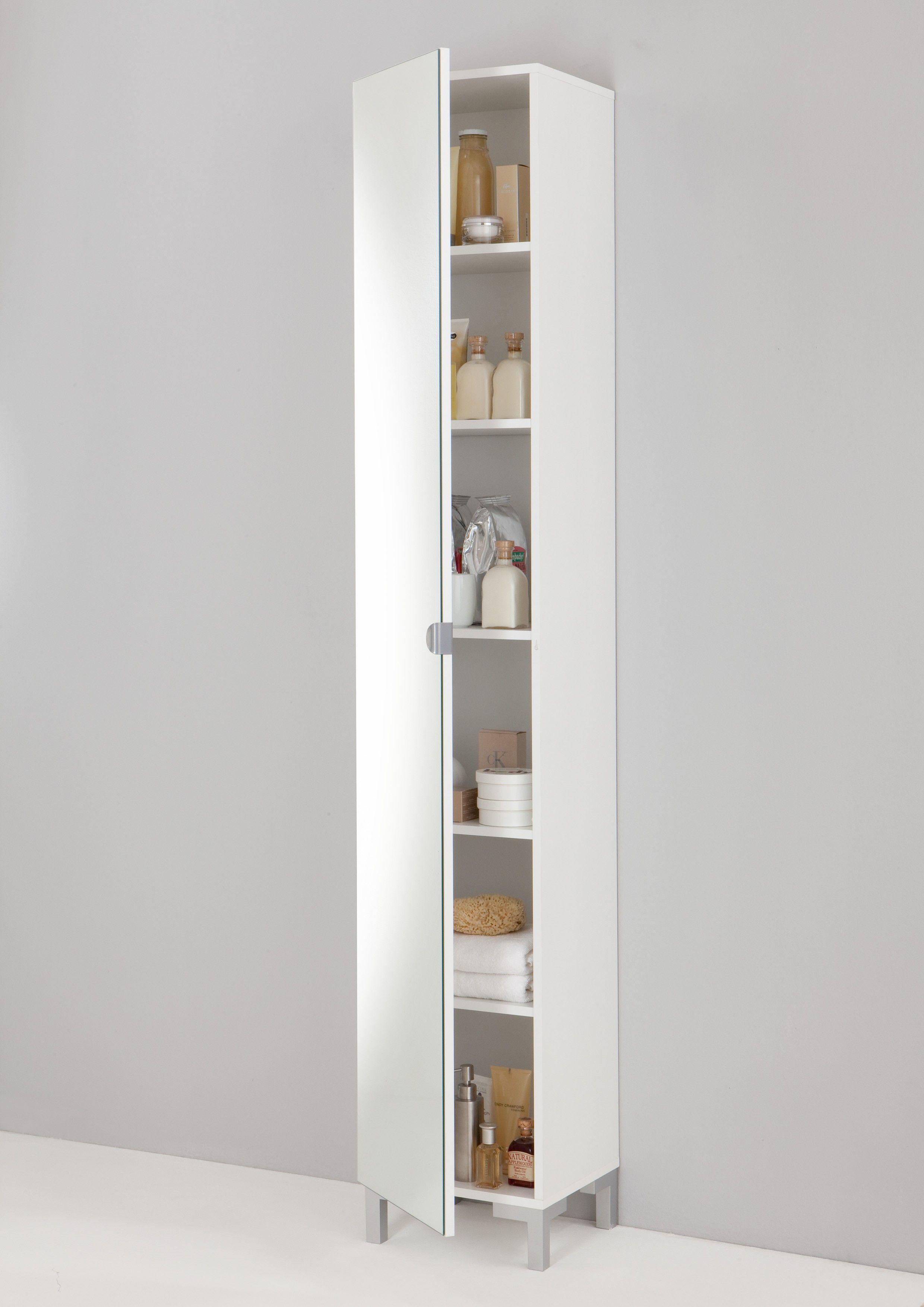 colonne de salle de bains tarragone avec miroir