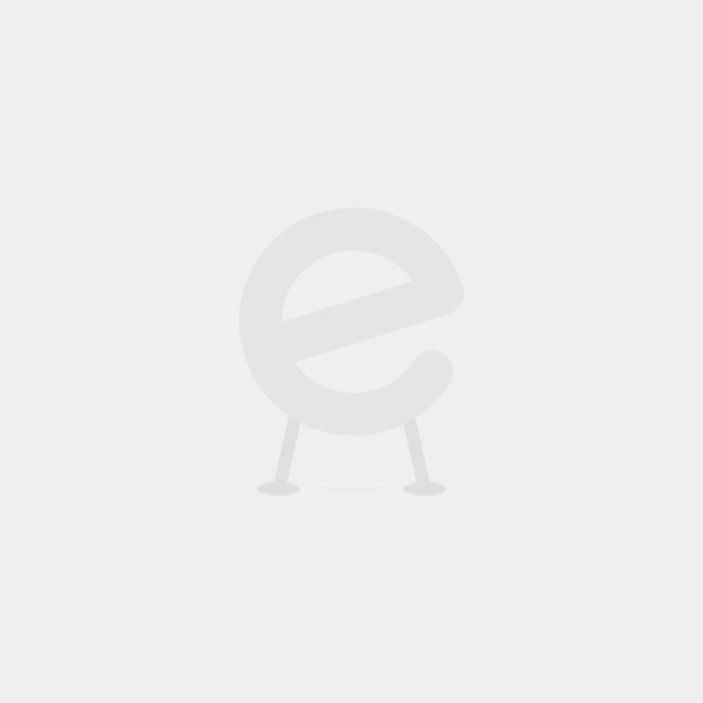 Kleiner Tisch mit Sthlen  blaurot  Emob