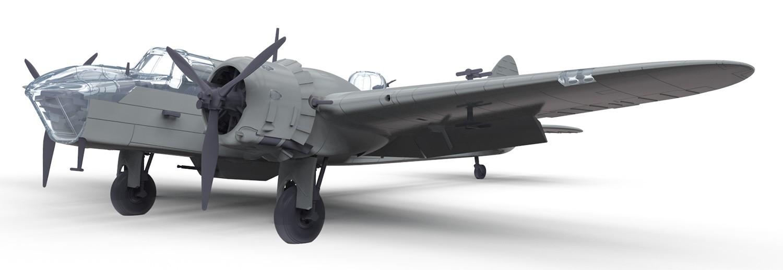 Airfix 1/72 Bristol Blenheim MkIV Fighter # A04017 - Plastic Model Kit