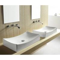 European Style Porcelain Ceramic Countertop Bathroom ...