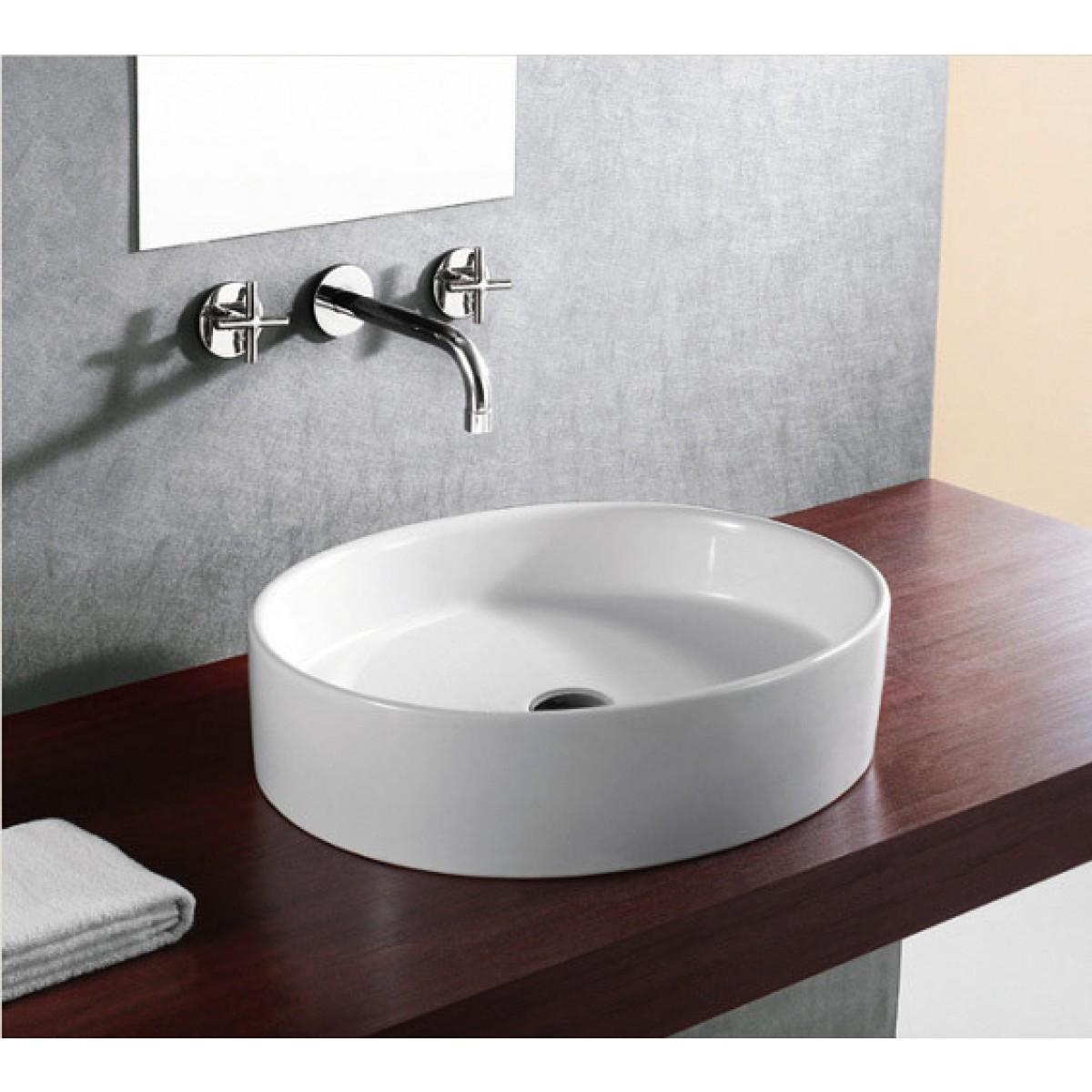 European Style Oval Shape Porcelain Ceramic Bathroom
