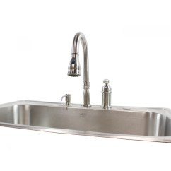 Drop In Kitchen Sinks Faucet Reviews 33 Inch Stainless Steel Top Mount Single Bowl