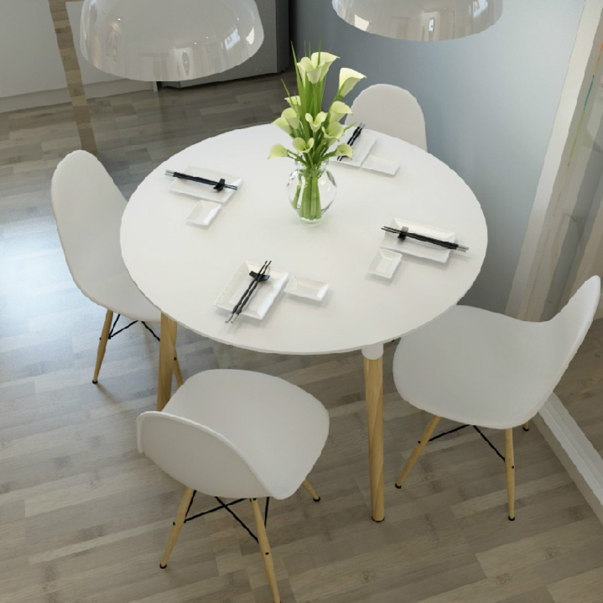 white round kitchen table cabinet factory outlet eames style dsw dining regular price 560 00