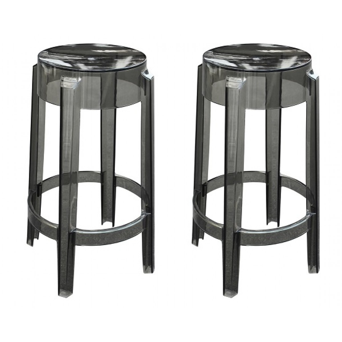 ghost chair bar stool best camp for backpacking set of 2 victoria style counter smoke color