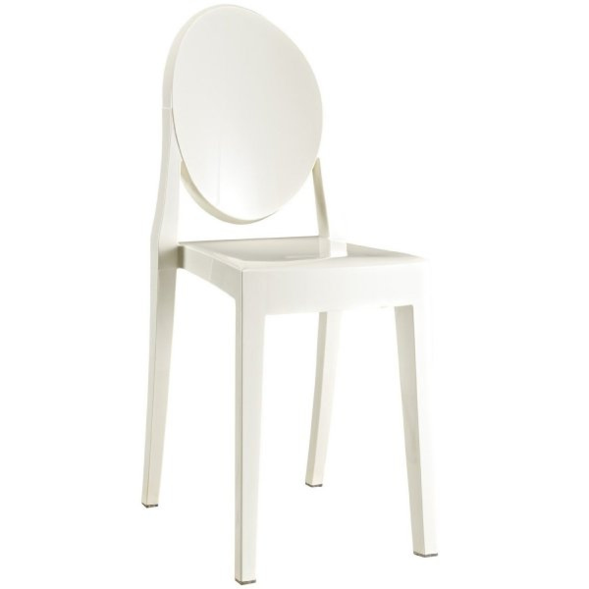 ghost chairs cheap la z boy big and tall executive office chair victoria style dining white color
