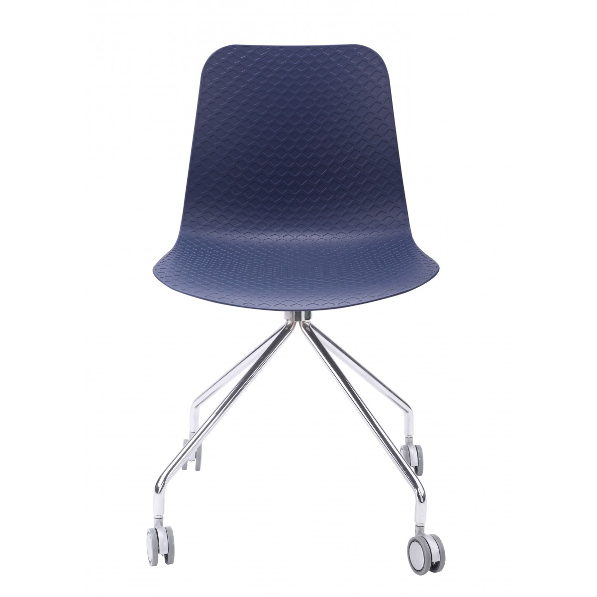 navy office chair folding table and chairs for camping hebe series molded plastic designer task