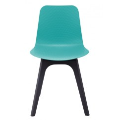 Turquoise Side Chair White Office Chairs Johannesburg Hebe Series Dining Shell Molded
