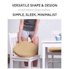 Dining Chair Cushions Non Slip Old Birthing Eames Style Memory Foam Seat Cushion Premium Modern