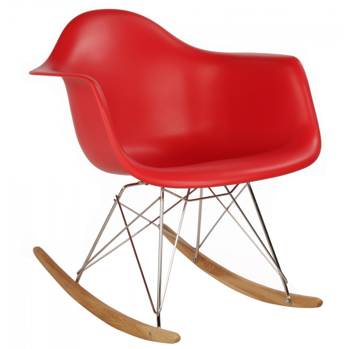 plastic chairs with steel legs office chair dwg eames style rar molded red rocking