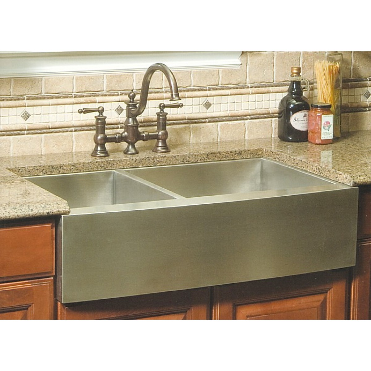 60 40 kitchen sink coffee decoration for 36 inch stainless steel curved front farm apron double bowl