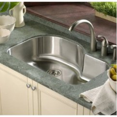 Kitchen Sink Undermount Cabinet Knobs And Pulls 32 Inch Stainless Steel Offset Single Bowl