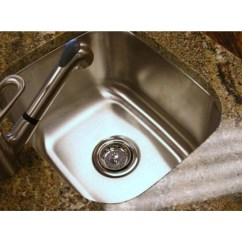 Undermount Stainless Steel Kitchen Sinks Small Remodel Ideas 14 Inch Single Bowl