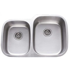 Stainless Steel Kitchen Sinks Undermount Valence 31 Inch 40 60 Double Bowl