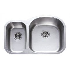 Undermount Stainless Steel Kitchen Sinks Cab 31 Inch 30 70 Double Bowl