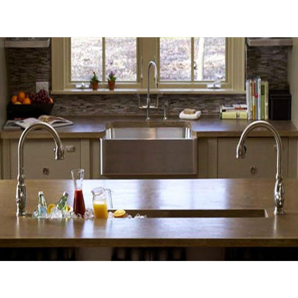 kitchen prep sink faucet kohler 32 inch stainless steel undermount single bowl bar regular price 530 00