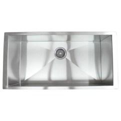 Stainless Steel Kitchen Sinks Undermount Ikea Buffet 36 Inch Single Bowl