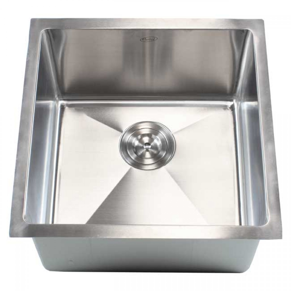 undermount single bowl kitchen sink lights for ceiling ariel 18 inch stainless steel bar prep 15mm radius design 16 gauge