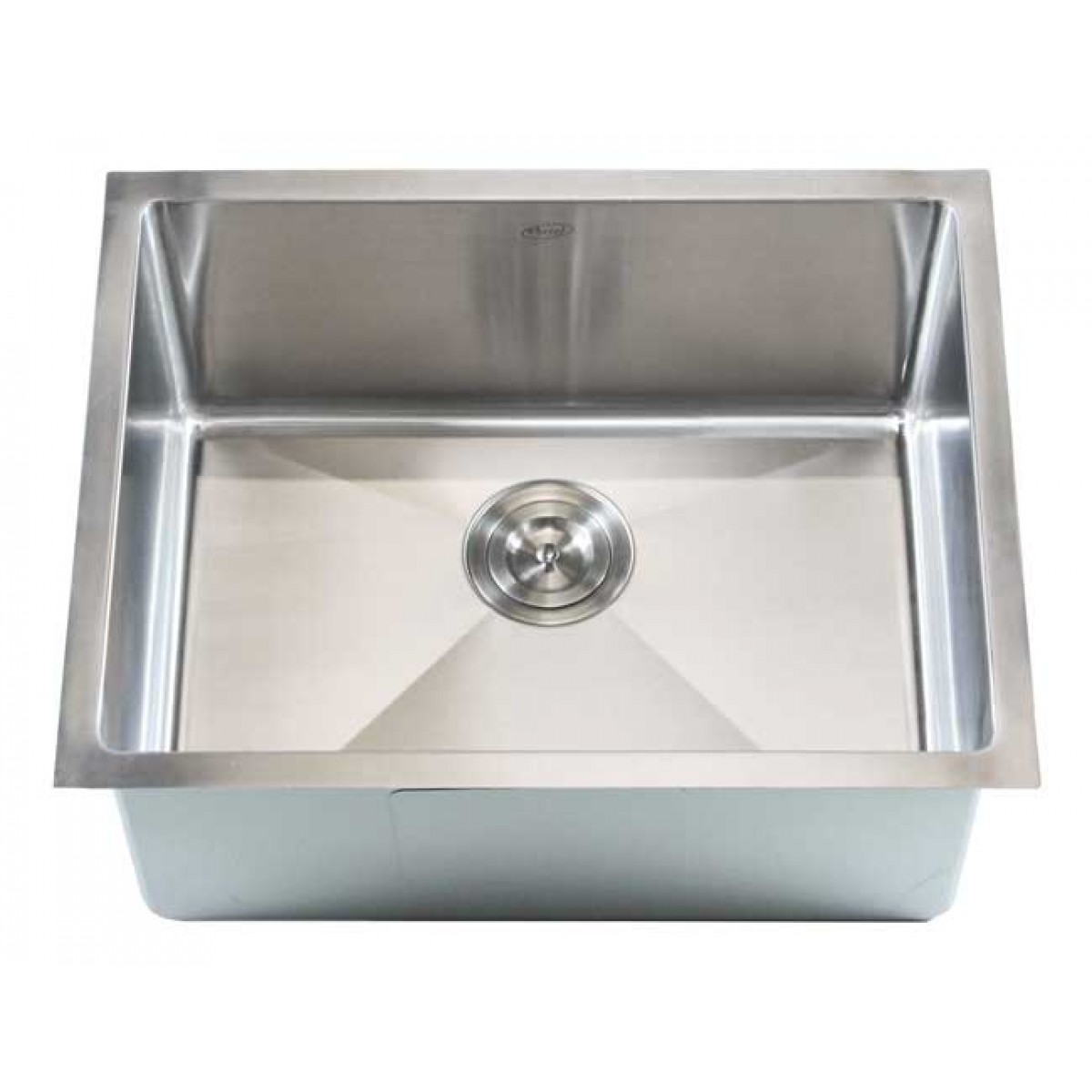 amazon kitchen sinks undermount decorating walls ariel 23 inch stainless steel single bowl