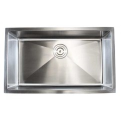 30 Inch Kitchen Sink Small Flat Screen Tv For Ariel Stainless Steel Undermount Single Bowl