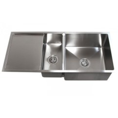 Undermount Kitchen Sink Remodel How To 42 Inch Stainless Steel Double Bowl