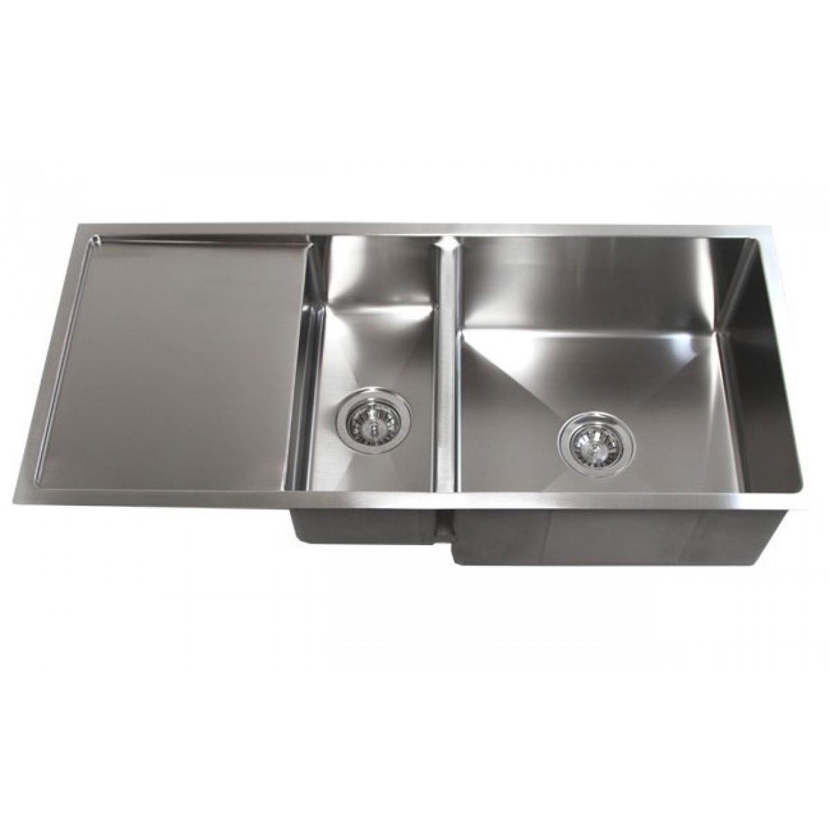 stainless steel kitchen sinks undermount pantry organization 42 inch double bowl