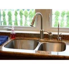 Buy Undermount Kitchen Sink Tile Countertops 31 Inch Stainless Steel 60 40 Double Bowl With Your Purchase Receive At No Cost