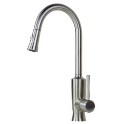 Kitchen Faucet Pull Out Sprayer Design Gallery Ariel Venus Stainless Steel Lead Free